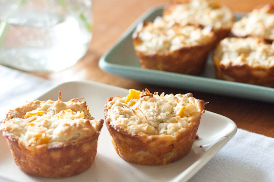 ... hawaii inspired pom pineapple orange and mango not pog muffins with